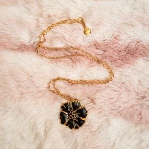 JCREW GOLD FLOWER NECKLACE